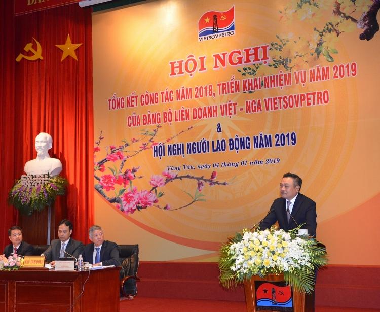 nam 2018 vietsovpetro hoan thanh toan dien cac chi tieu ke hoach san xuat kinh doanh