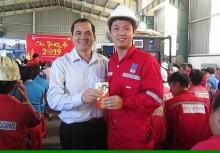 cong doan pv drilling to chuc hoi nghi bch mo rong chuc tet nguoi lao dong