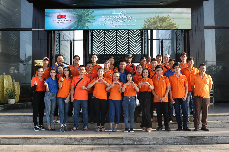 Tuổi trẻ Vietsovpetro tổ chức chương trình về nguồn kết hợp an sinh xã hội và trồng cây xanh Tháng Thanh niên 2021
