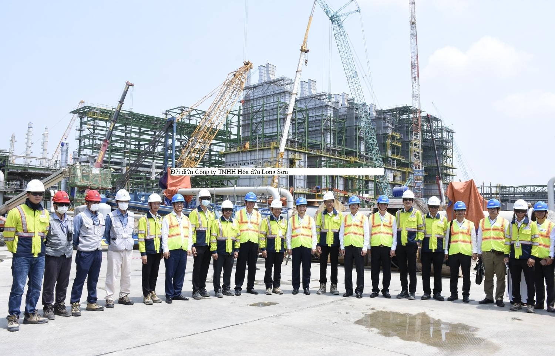 Bí thư Tỉnh ủy BR-VT Phạm Viết Thanh thăm và làm việc tại Công ty TNHH Hóa dầu Long Sơn