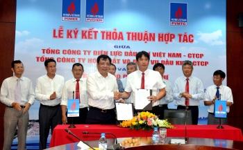 PVMTC cùng PV Power và PVChem ký kết các thỏa thuận hợp tác cung ứng các hoạt động dịch vụ