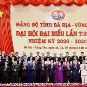 Bế mạc Đại hội Đảng bộ tỉnh Bà Rịa – Vũng Tàu lần thứ VII, nhiệm kỳ 2020-2025