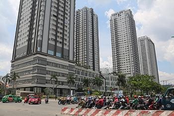 Nhiều quận ở Sài Gòn được xây chung cư cao tầng