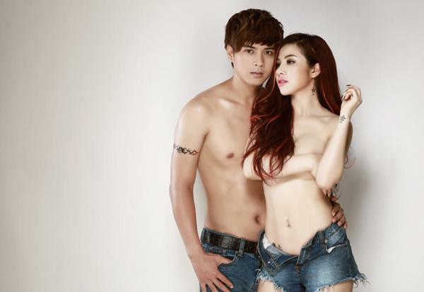 Ca sỹ Hồ Quang Hiếu và nữ DJ tung ảnh nóng