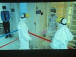 Bộ Y tế tham gia diễn tập phòng chống Ebola