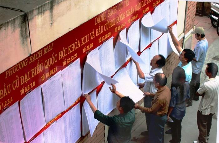 Hơn 5 triệu cử tri Hà Nội nô nức đi bầu cử