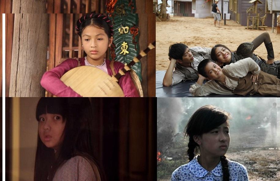 Những gương mặt nhí tài năng của điện ảnh Việt