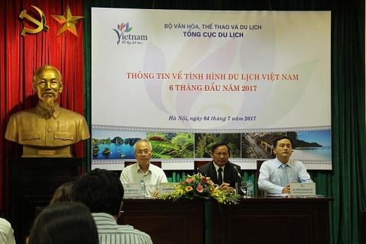 an tuong du lich viet trong 6 thang dau nam 2017