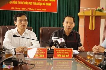Hơn 300 bài thi THPT Quốc gia ở Hà Giang được nâng điểm
