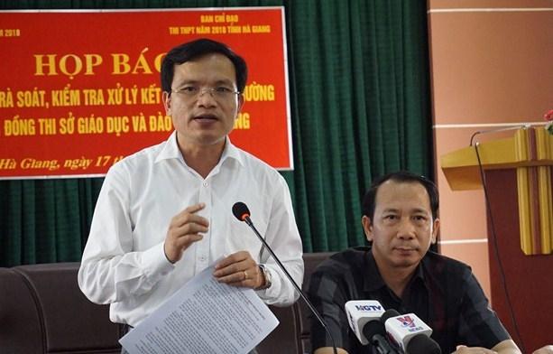 Bộ GD&ĐT tiếp tục xác minh điểm thi bất thường ở Lạng Sơn, Sơn La