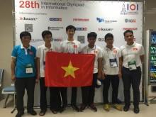 Olympic Tin học quốc tế: Việt Nam đứng thứ 7/81 quốc gia