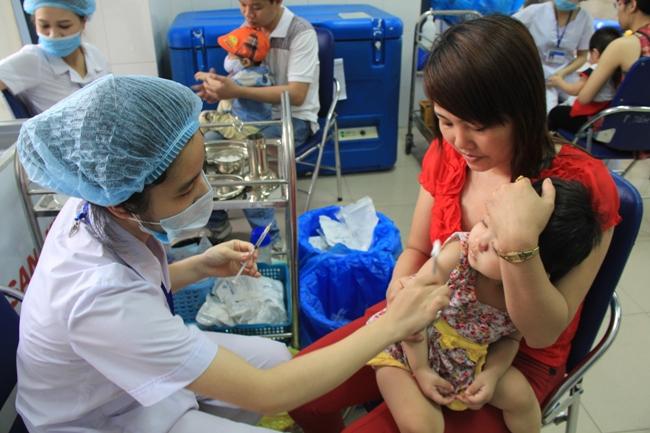 5 triệu liều vắc xin sởi - rubella sẵn sàng