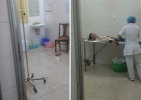 Côn đồ làm náo loạn bệnh viện Xanh Pôn