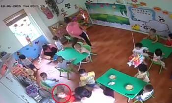[VIDEO] Cô giáo bạo hành trẻ mầm non ở Hà Nội
