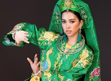 tieu vy mang co doi thuong ngan den miss world 2018