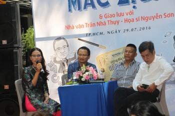 Nhà văn Trần Nhã Thụy ra mắt 'Những đứa trẻ mắc zịch'