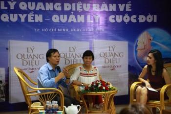 Ra mắt bộ sách về Thủ tướng Singapore Lý Quang Diệu