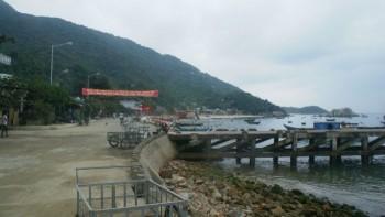 Hướng ra đảo Cù Lao Chàm
