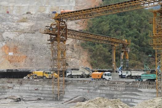 Nhà máy Thủy điện Trung Sơn: Xanh, chất lượng và tiến độ