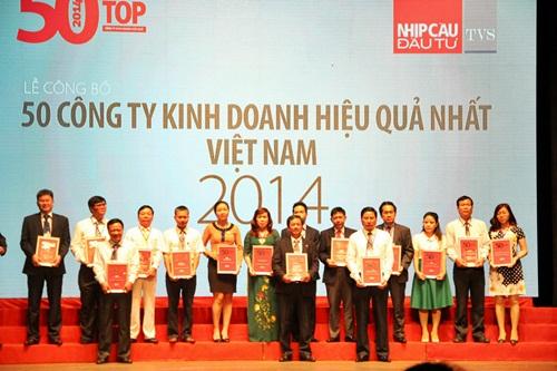 BIC vào Top 50 doanh nghiệp hiệu quả nhất Việt Nam