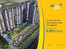Sở hữu căn hộ tại Krista và Vista Verde cùng PVcomBank