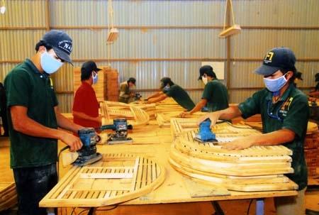 Hình thành liên minh các nhà xuất khẩu đồ gỗ