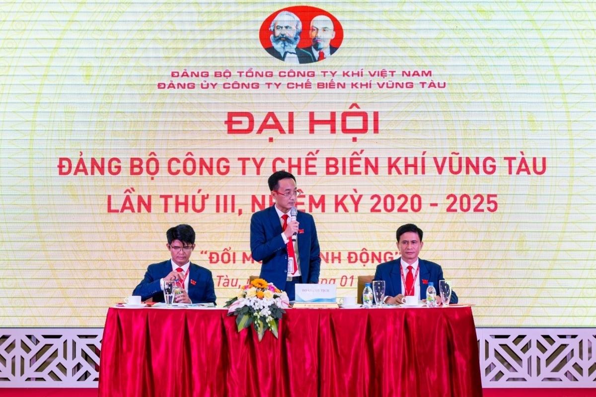 dai hoi dang bo cong ty che bien khi vung tau lan iii nhiem ky 2020 2025