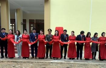 PV GAS tài trợ 5 tỷ đồng xây dựng Nhà bán trú Trường Phiêng Pằn - Sơn La