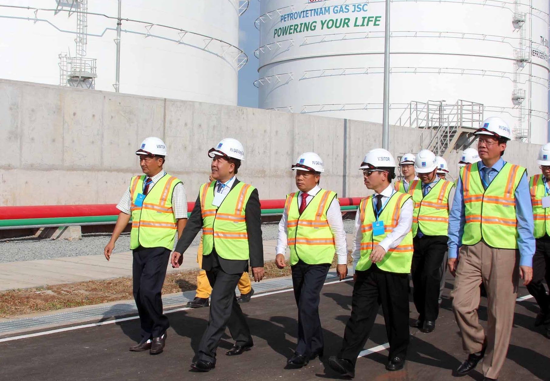 Khánh thành dự án kho chứa LPG lạnh đầu tiên tại Việt Nam