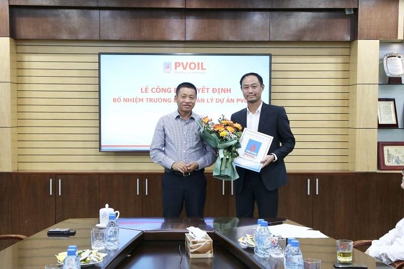 Bổ nhiệm Trưởng ban Quản lý Dự án PVOIL
