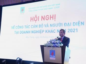 PV GAS tổ chức Hội nghị về Công tác cán bộ và Người đại diện của Tổng công ty tại doanh nghiệp khác năm 2021