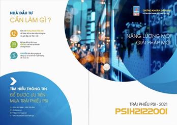 PSI phát hành trái phiếu doanh nghiệp lần 1 năm 2021