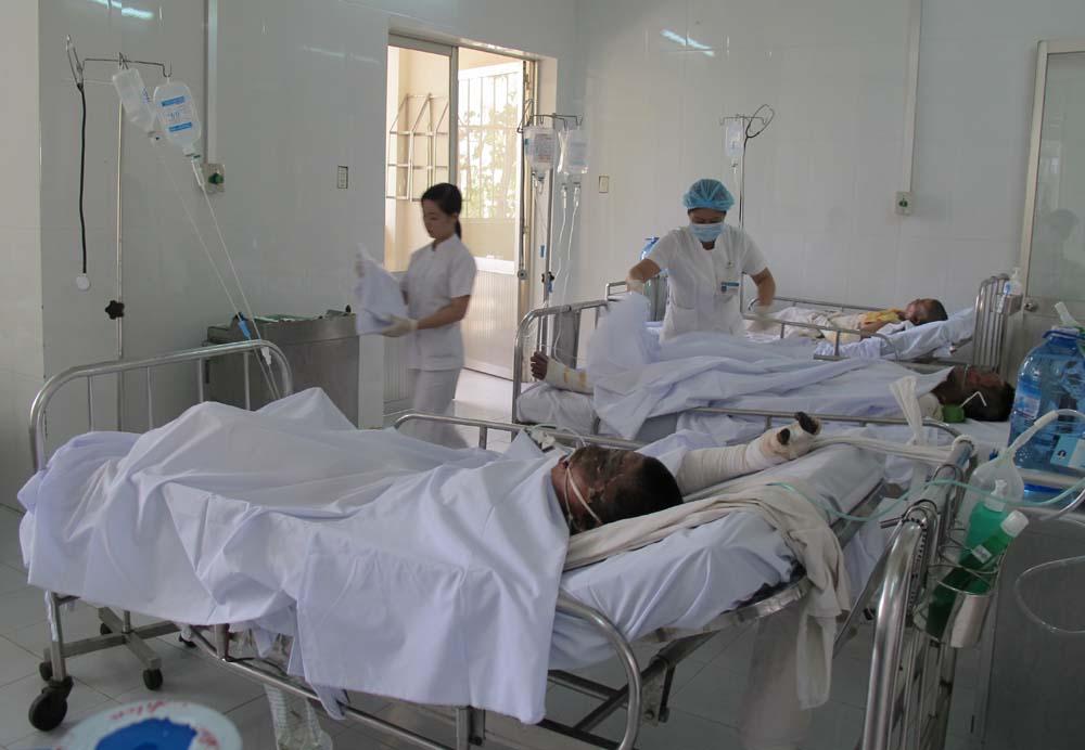 Vụ nổ ở nhà máy thép Pomina: Ba nạn nhân nguy kịch