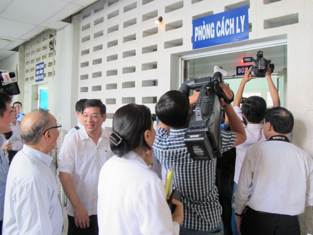 Bộ Y tế kiểm tra việc chống dịch MERS-CoV tại TP HCM