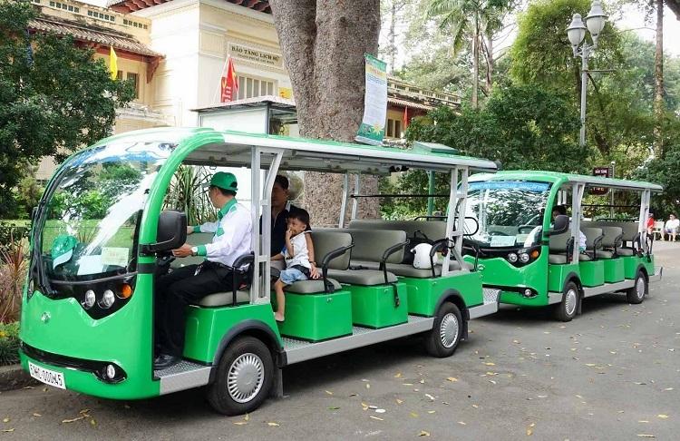 Xúc tiến đầu tư xe buýt điện thông minh tại TP HCM