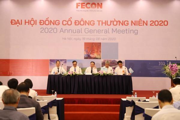 Đại hội đồng cổ đông thường niên FECON 2020: Đặt mục tiêu lợi nhuận 233 tỷ đồng năm 2020