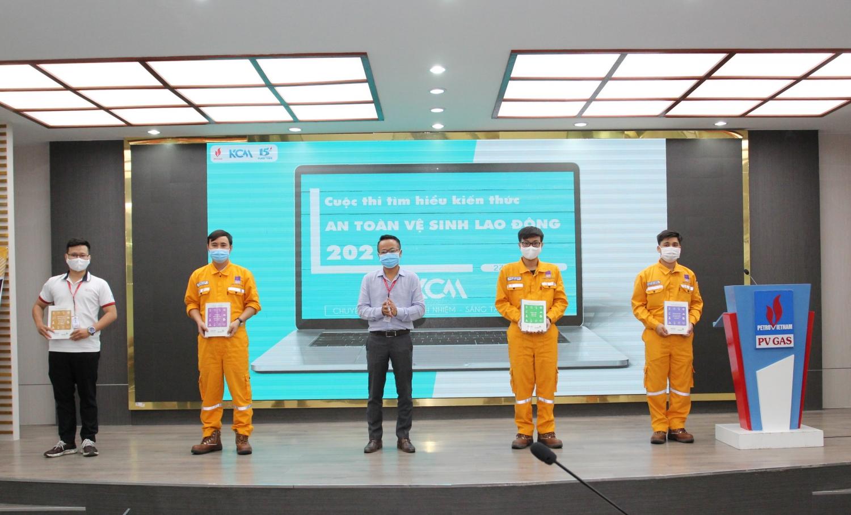 KCM tổ chức thi trực tuyến Tìm hiểu về kiến thức An toàn vệ sinh lao động