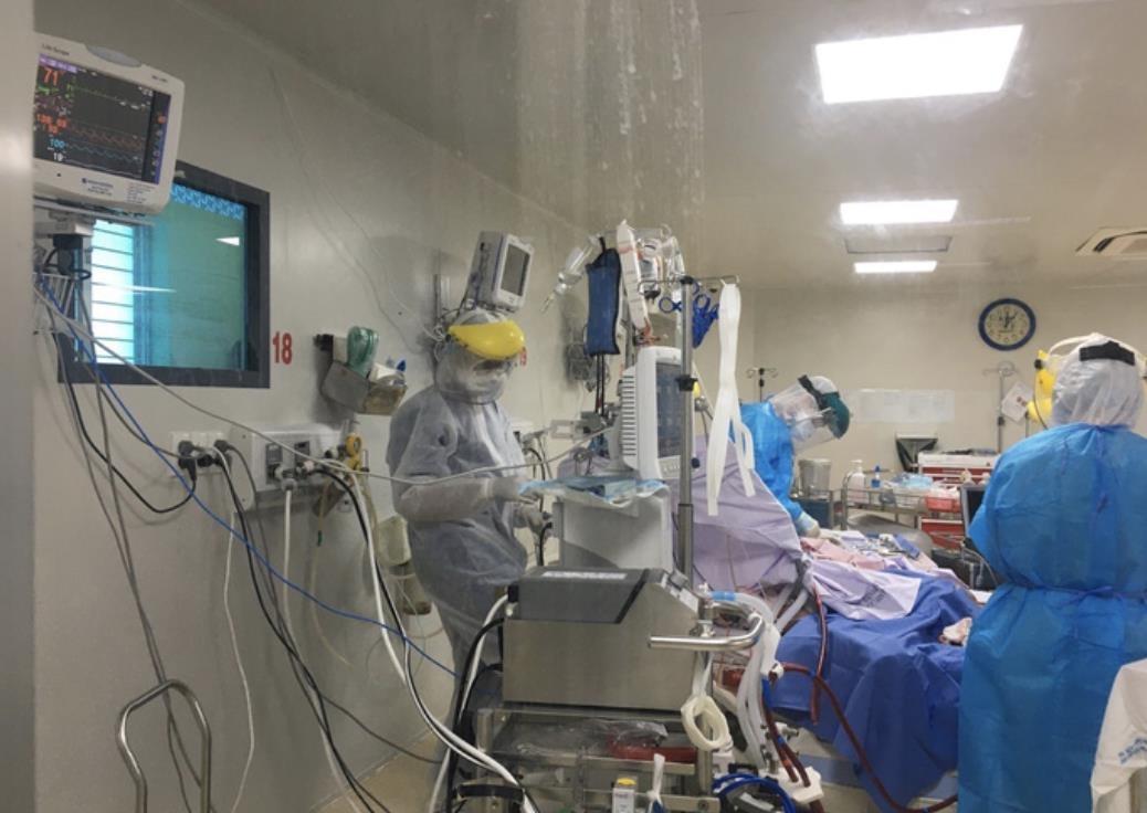 3 bệnh nhân COVID-19 rất nặng đang chạy ECMO tại BV Bệnh Nhiệt Đới TPHCM (08/06/2021)