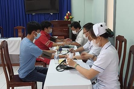 NT2 tổ chức tiêm vắc-xin phòng dịch Covid-19 cho người lao động