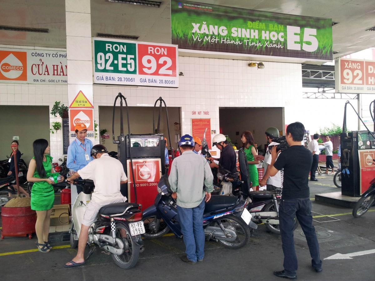 TPHCM: Cơ quan Nhà nước phải dùng xăng E5