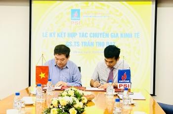 PSI ký kết hợp tác với GS.TS Trần Thọ Đạt: Nâng tầm các sản phẩm phân tích dự báo