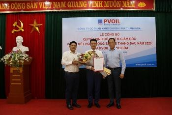 Bổ nhiệm Giám đốc PVOIL Thanh Hóa