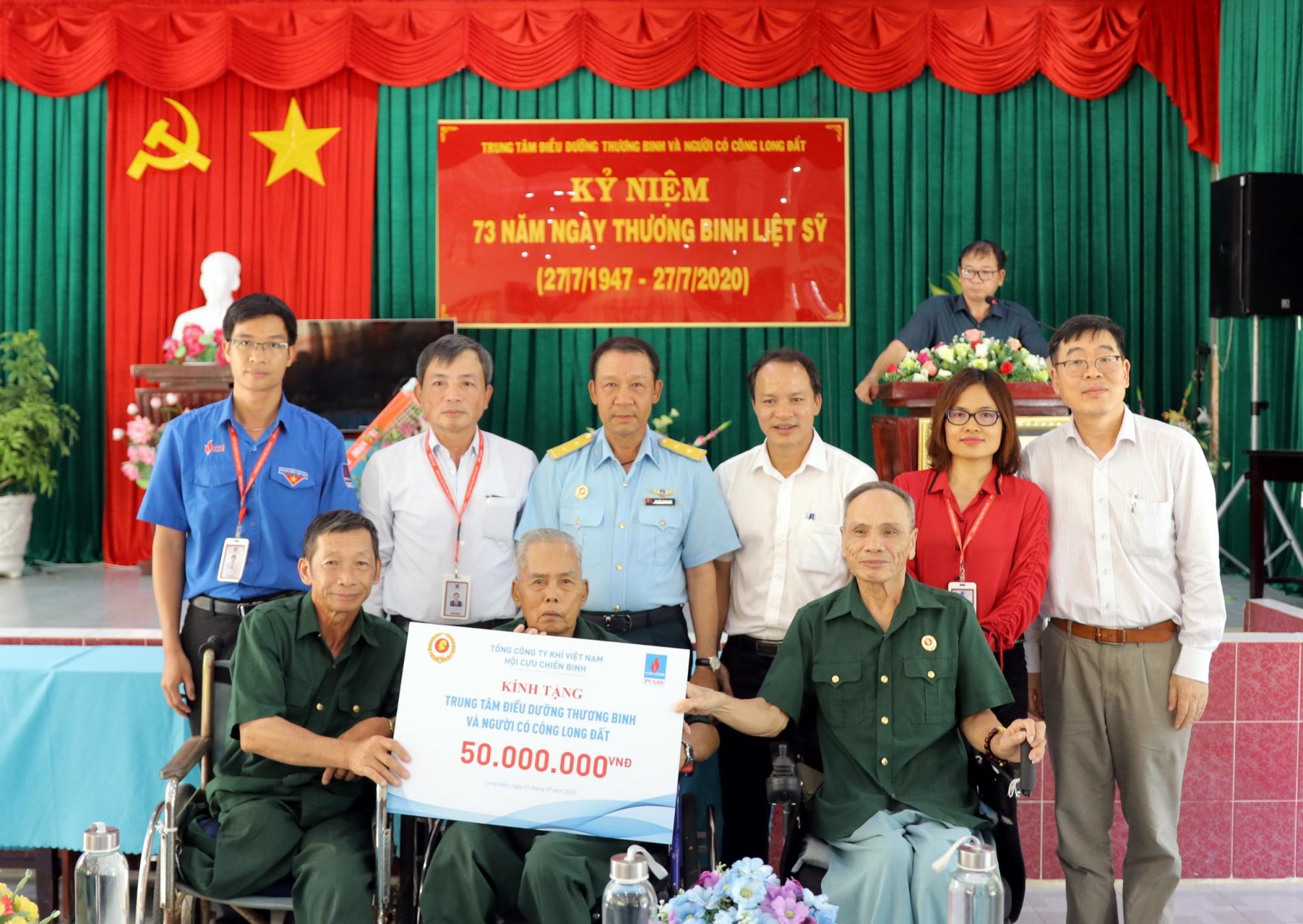 PV GAS tổ chức nhiều hoạt động kỷ niệm ngày Thương binh Liệt sỹ