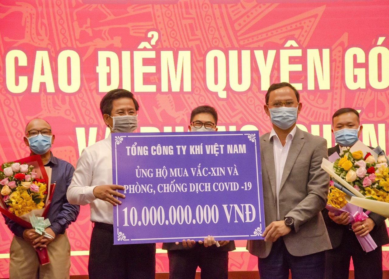 PV GAS ủng hộ 173 tỷ đồng cho công tác phòng chống đại dịch Covid-19