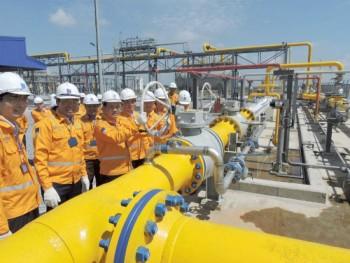 PV GAS đưa dòng khí đầu tiên vào Tiền Hải - Thái Bình