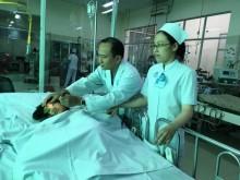 Ngã từ lầu 4, bé gái bị chấn thương nặng