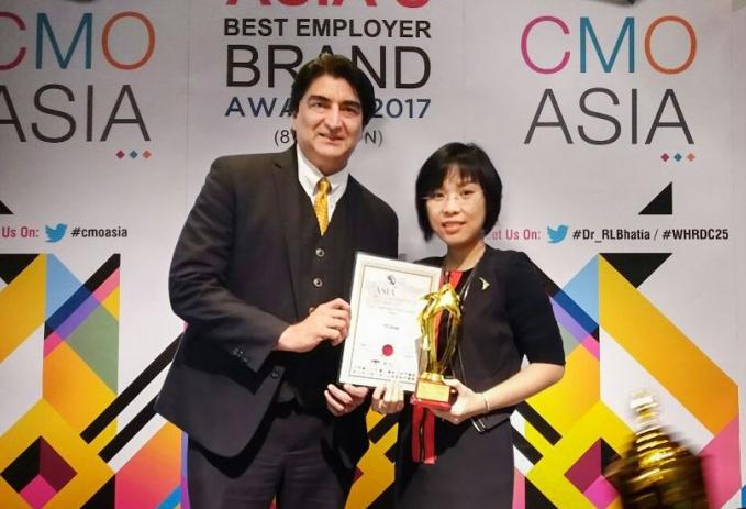 ttc nhan giai thuong asia best csr practices awards 2017