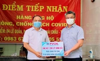 PVOIL ủng hộ hơn 7.000 lít xăng dầu, chung tay cùng Đà Nẵng chống dịch Covid-19