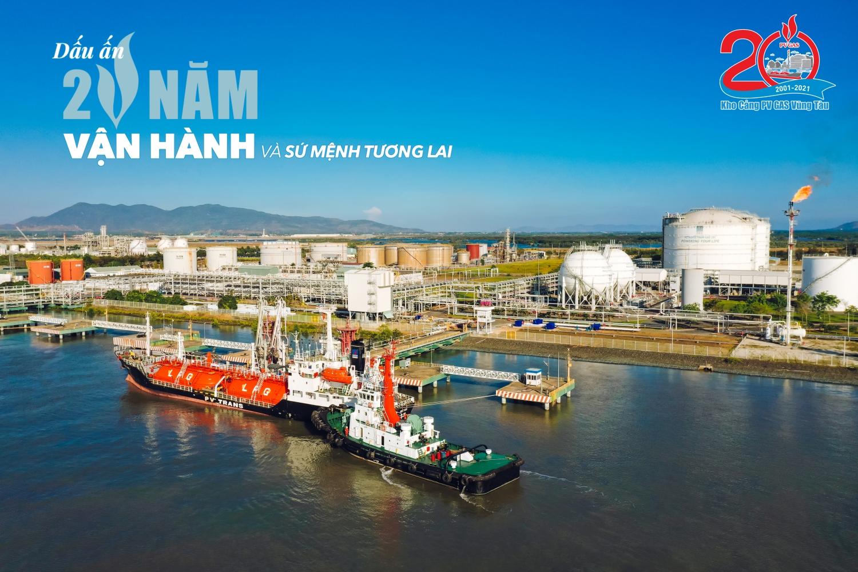 Kho cảng PV GAS Vũng Tàu - Dấu ấn 20 năm vận hành và sứ mệnh tương lai
