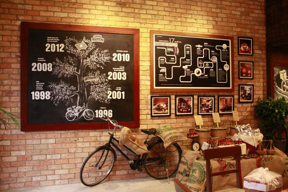 Diện mạo mới ở quán cà phê đầu tiên của Trung Nguyên